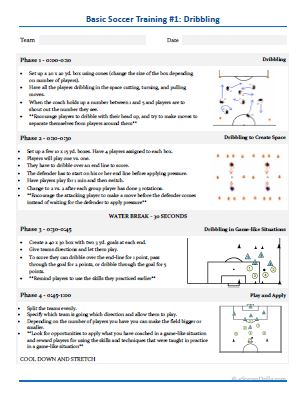 Essential Soccer Practice Plans — ESoccer Drills