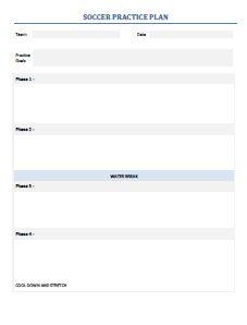 Essential soccer printables esoccer drills practice planning template maxwellsz