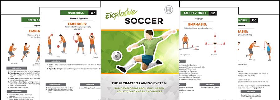 Explosive Soccer - eSoccerDrills